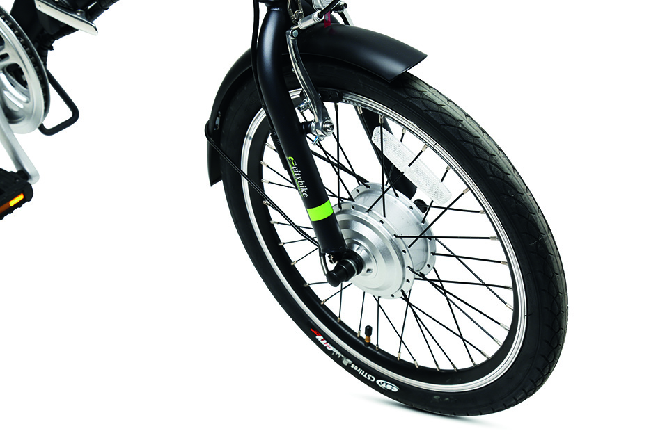 eBike with USB port