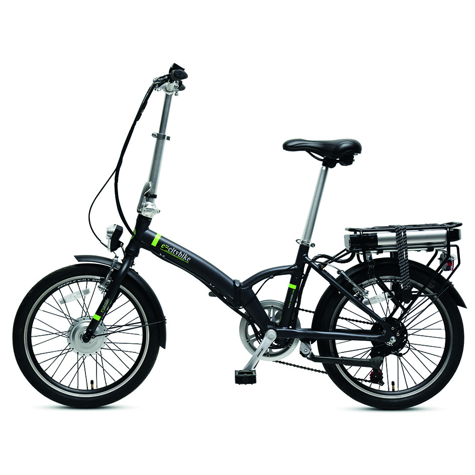 eBike with LCD Control Panel