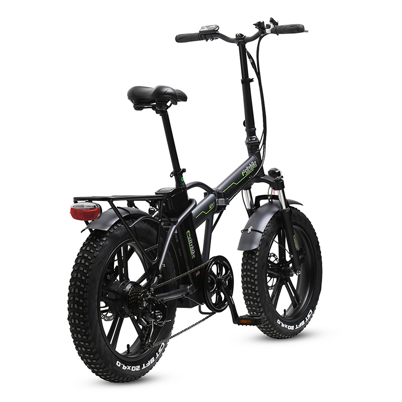 eBike with 7 speed gear system