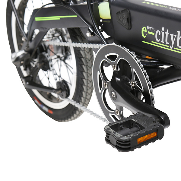 eBike with 5 Pedal Assist Levels