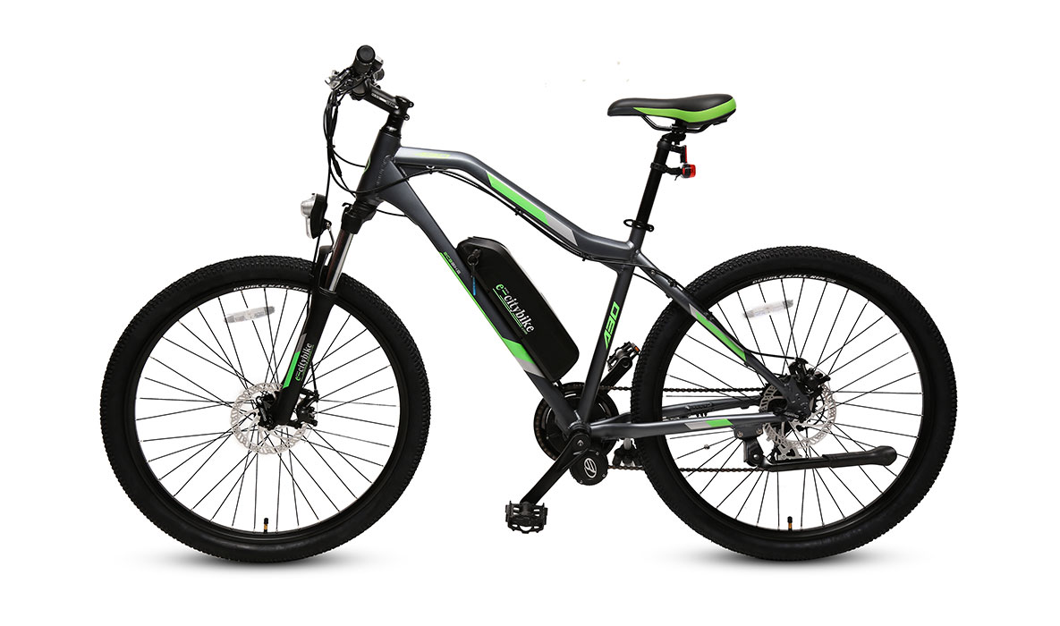 eBike with lithium battery